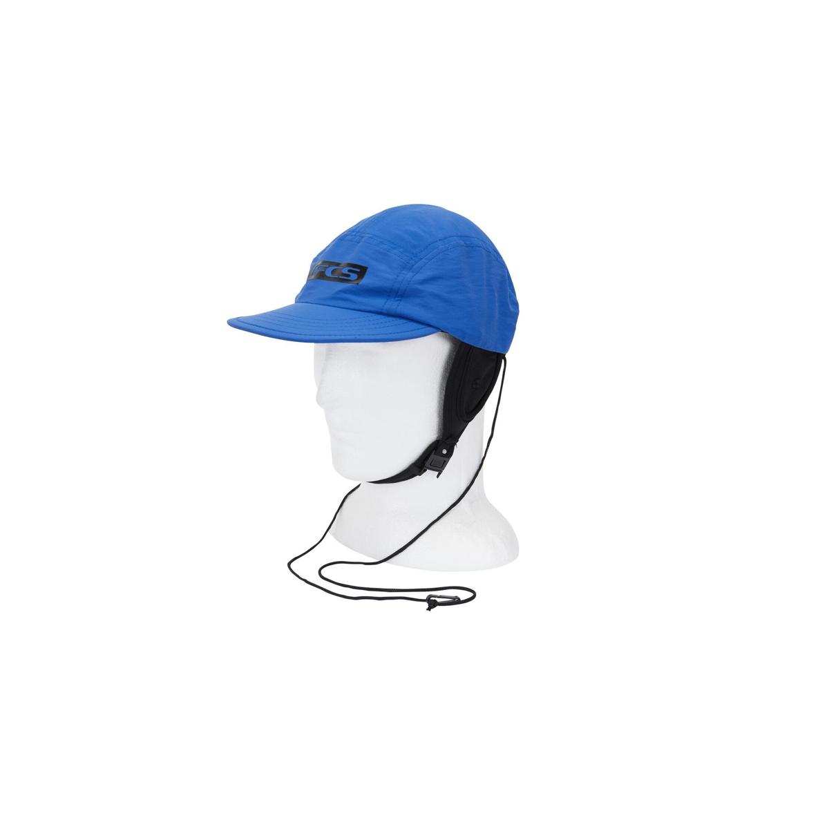 Essential surf cap hat blu large