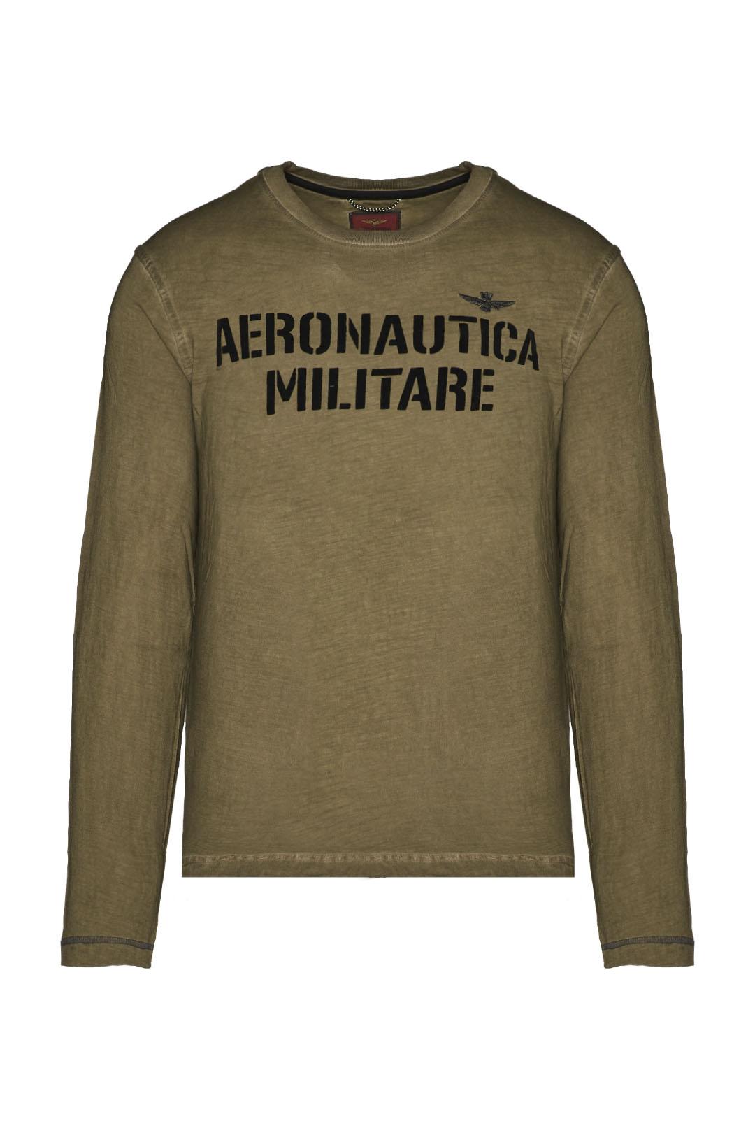 Long-sleeved t-shirt in slub jersey      1