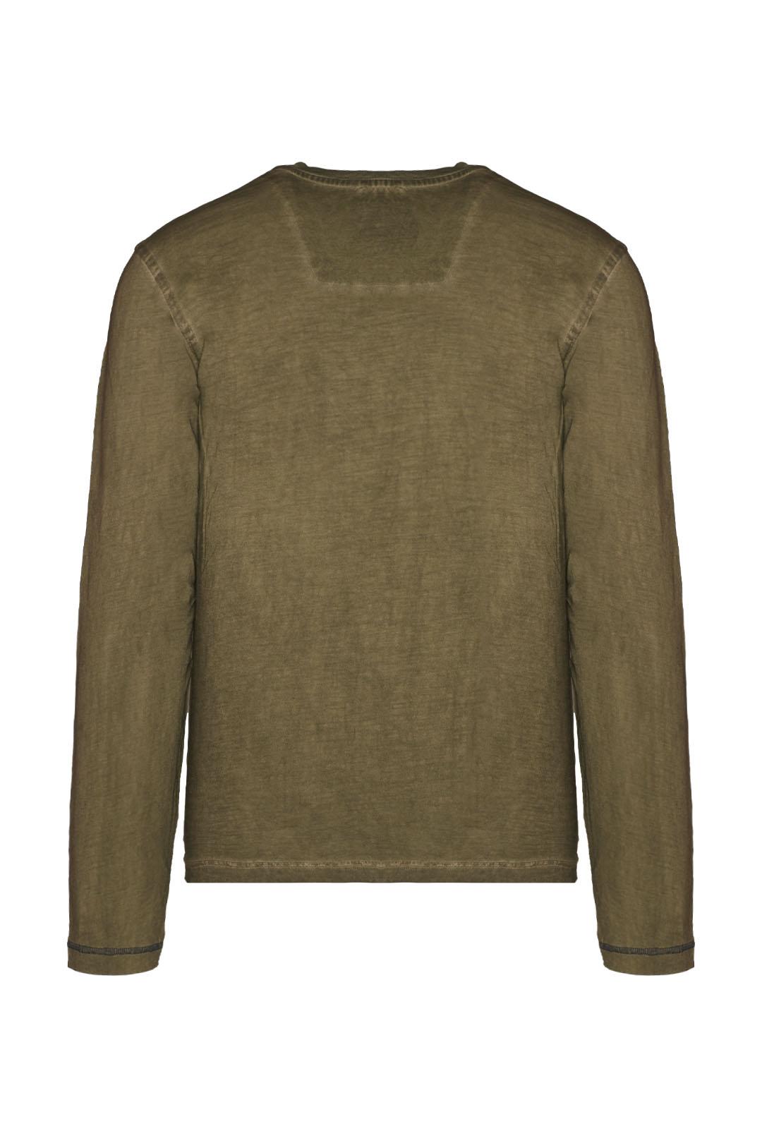 Long-sleeved t-shirt in slub jersey      2