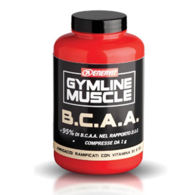 GYMLINE MUSCLE BCAA 2 1 1 - 120CPS