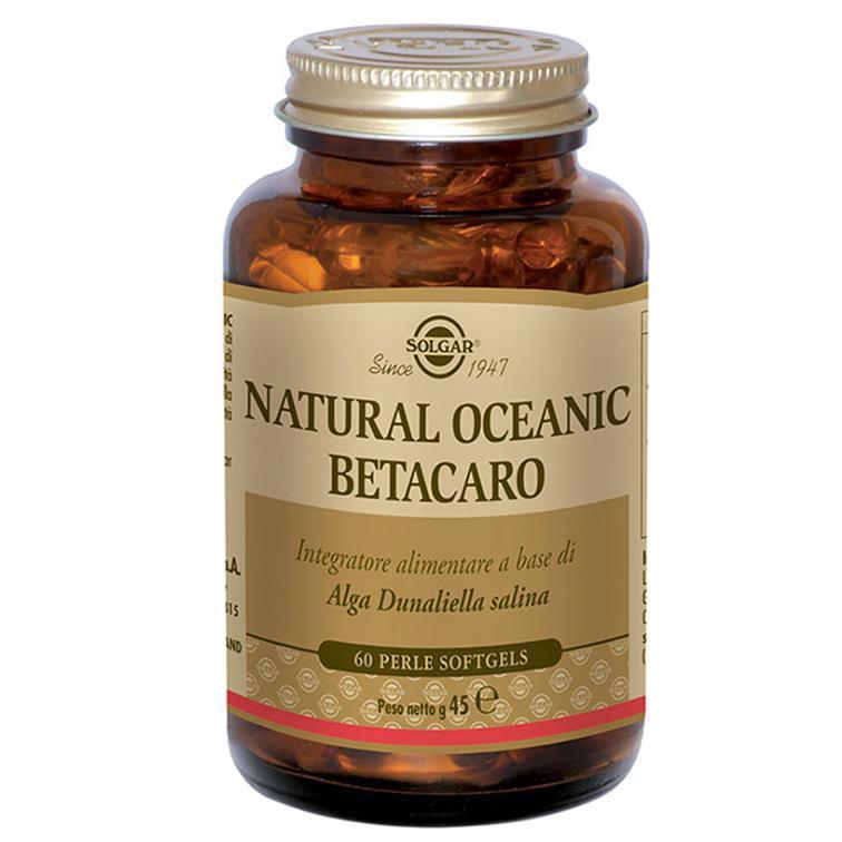 NATURAL OCEANIC BETACARO - INTEGRATORE SOLGAR A BASE DI CAROTENOIDI E BETA-CAROTENE