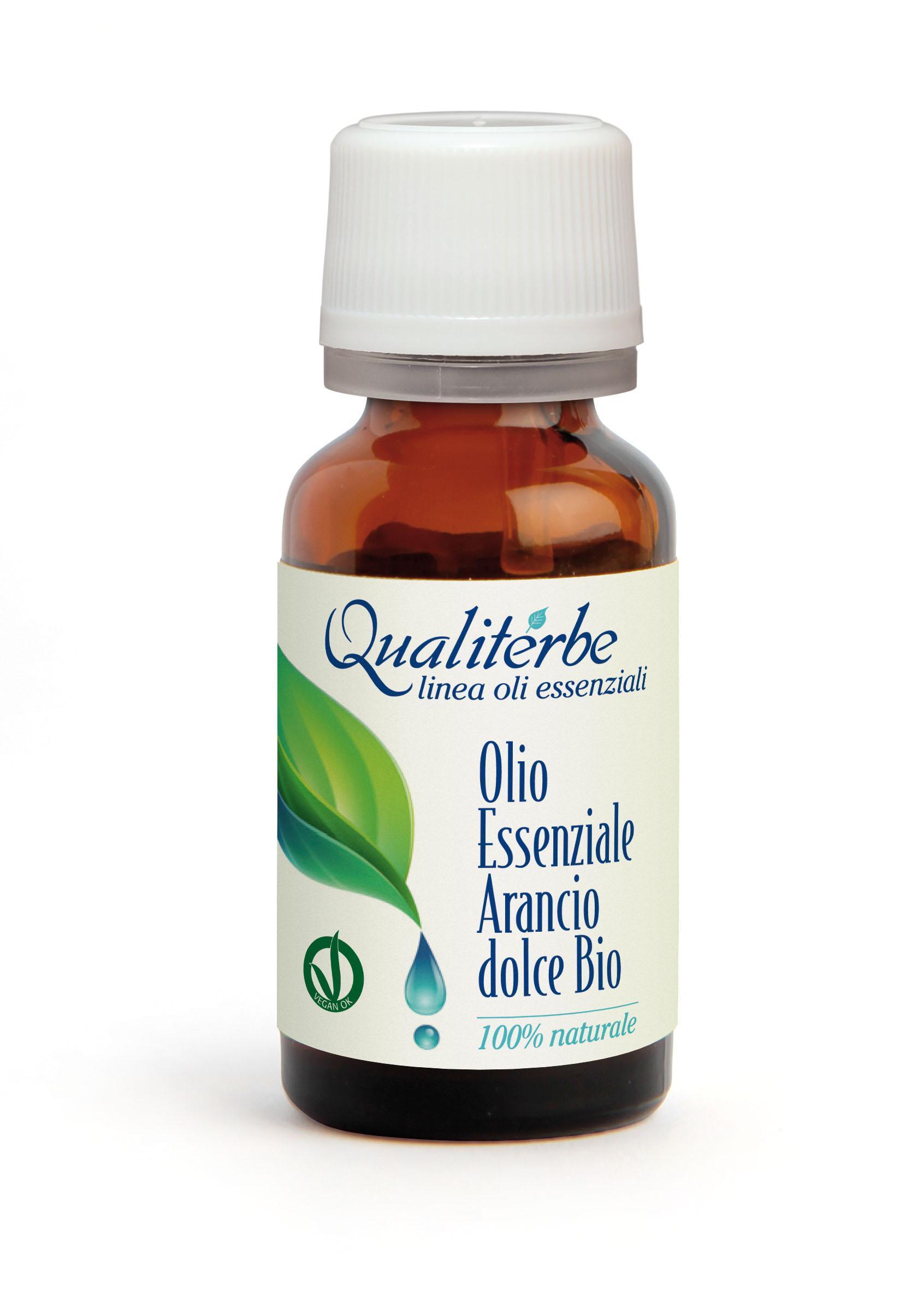 Olio essenziale di Arancio Dolce Bio 10 ml (Vegan Ok)