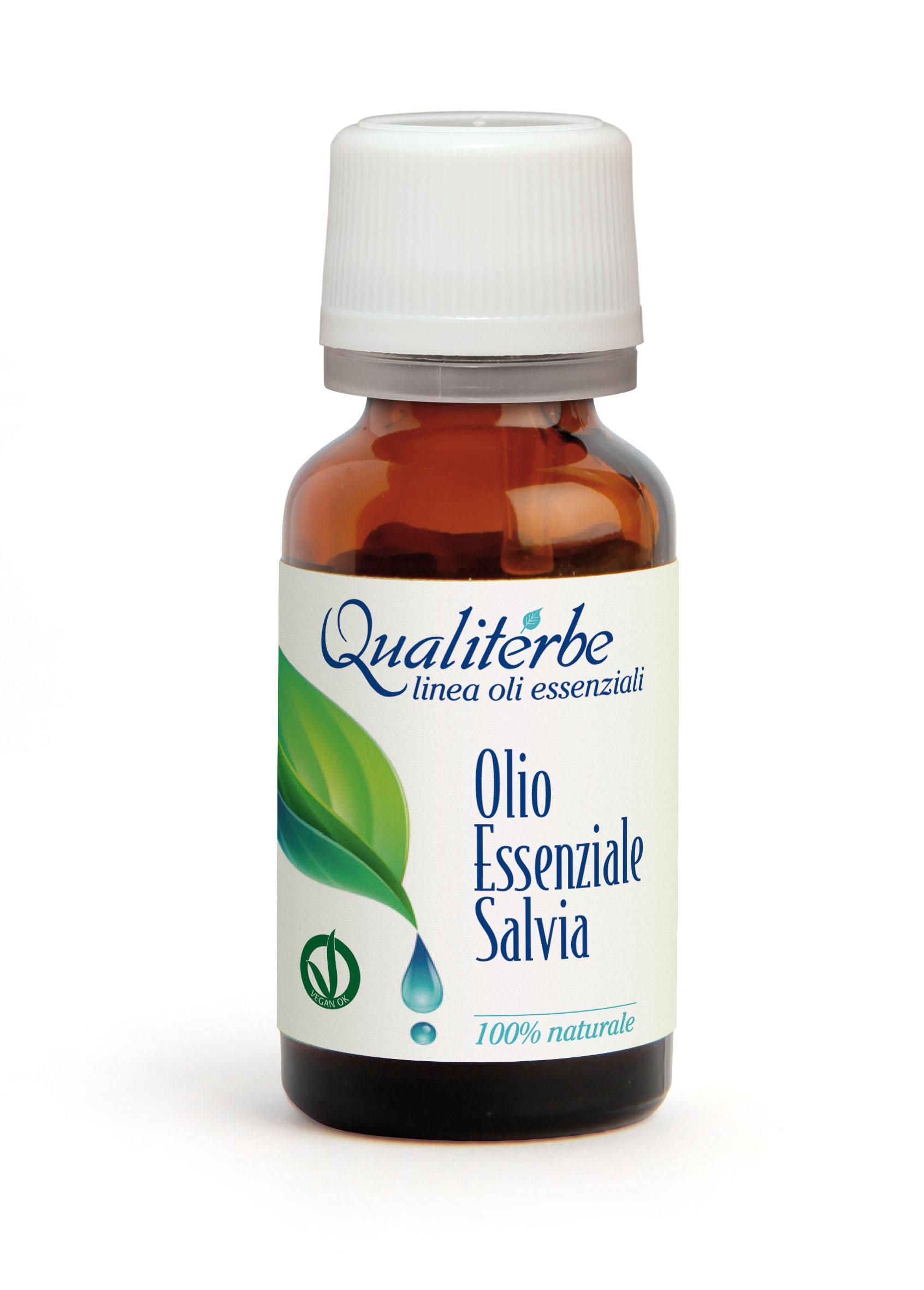 OLio essenziale di Salvia 10 ml (Vegan Ok)