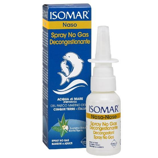 ISOMAR SPRAY NO GAS DECONGESTIONANTE