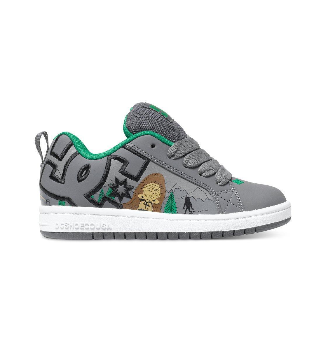 official photos b8712 76a2b DC Shoes Kid Court Graffik - Grigio/Verde