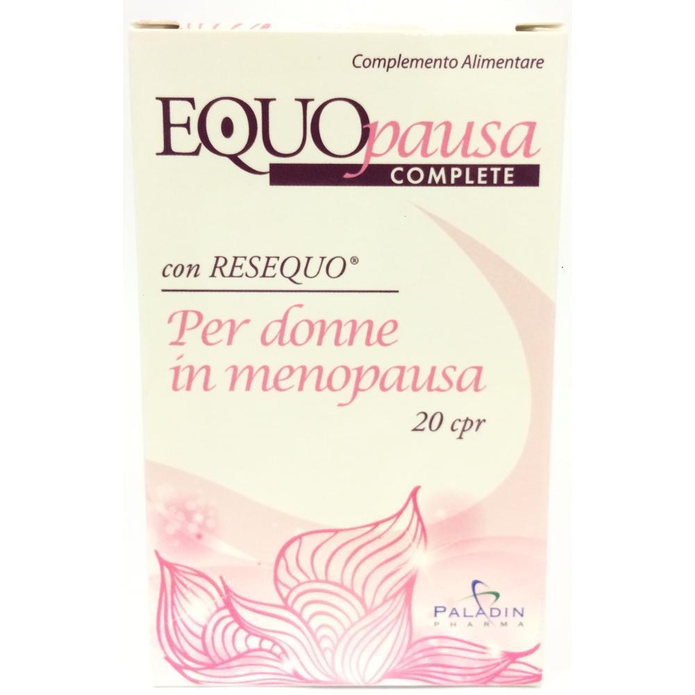 EQUOPAUSA COMPLETE - 20 COMPRESSE PER DONNE IN MENOPAUSA