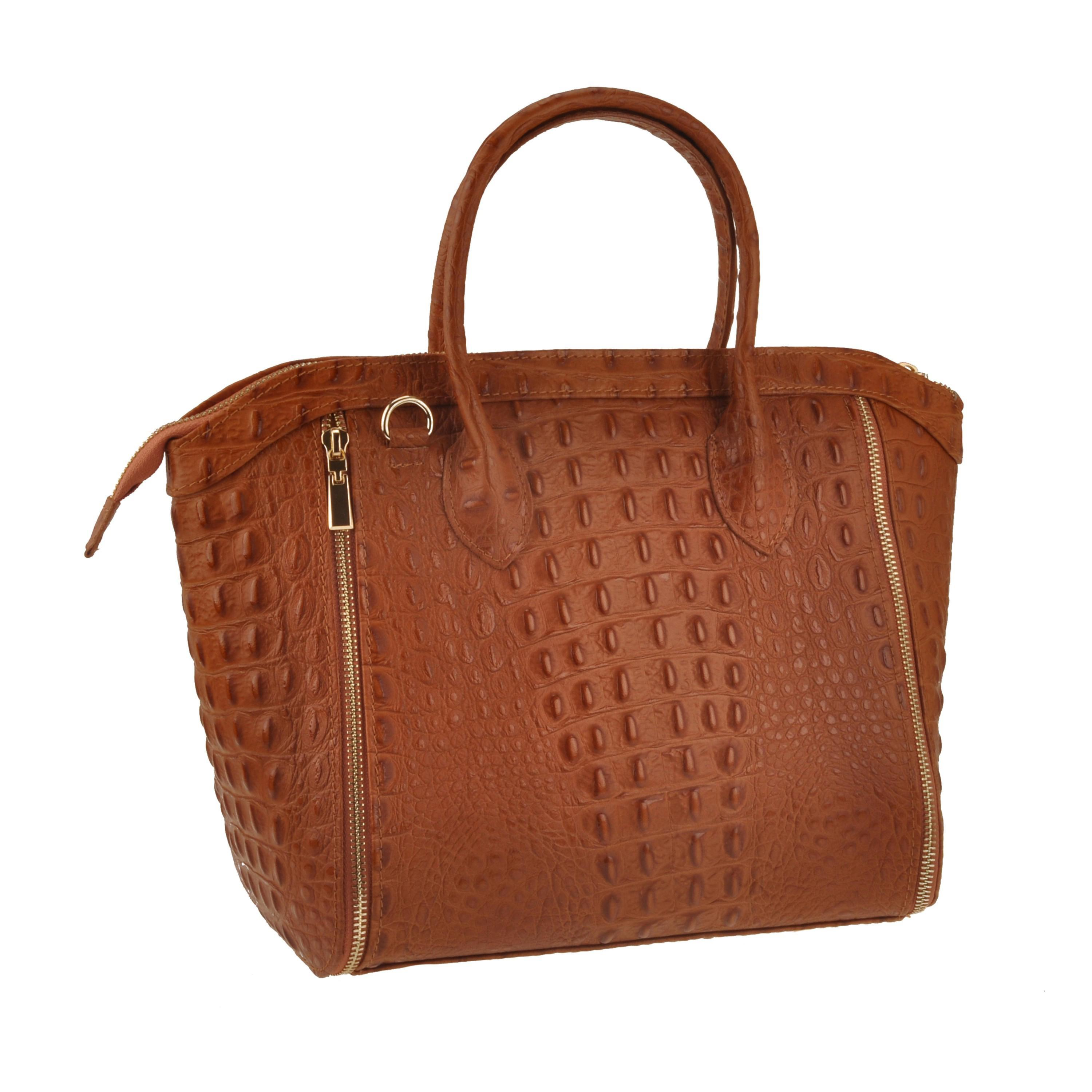 Borsa donna 669090XE - VERA PELLE MADE IN ITALY LEATHER BAG - made ... 5023dfe70ef