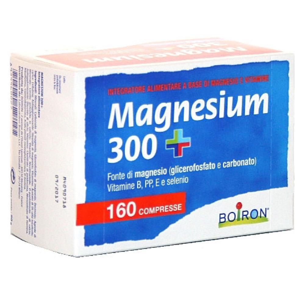 MAGNESIUM 300+ INTEGRATORE ALIMENTARE BOIRON DI MAGNESIO