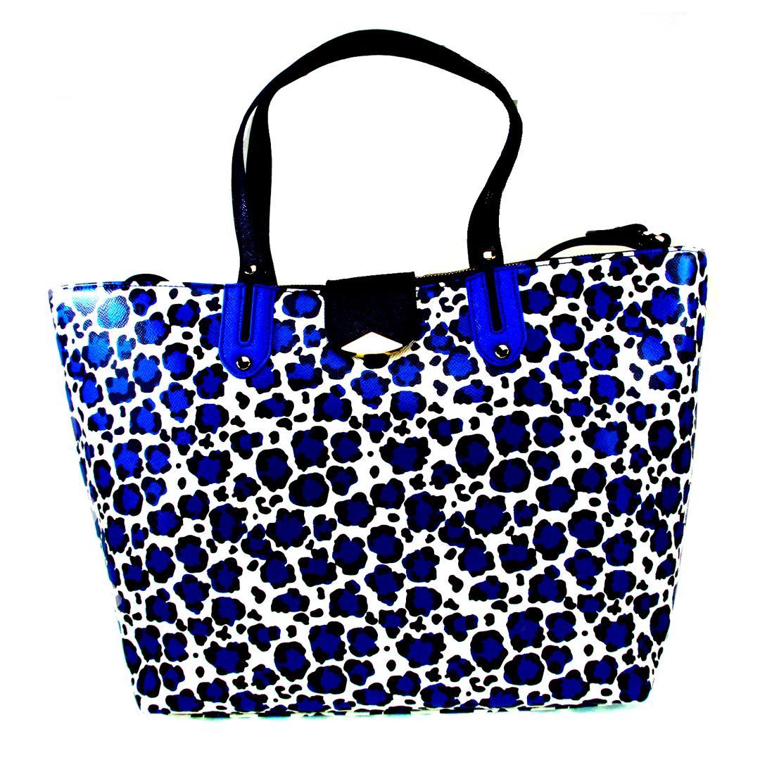 Shopping bag Liu Jo Kos A16035 E0087 MACULA BLU - LaBorsetteria.com c1d660df561