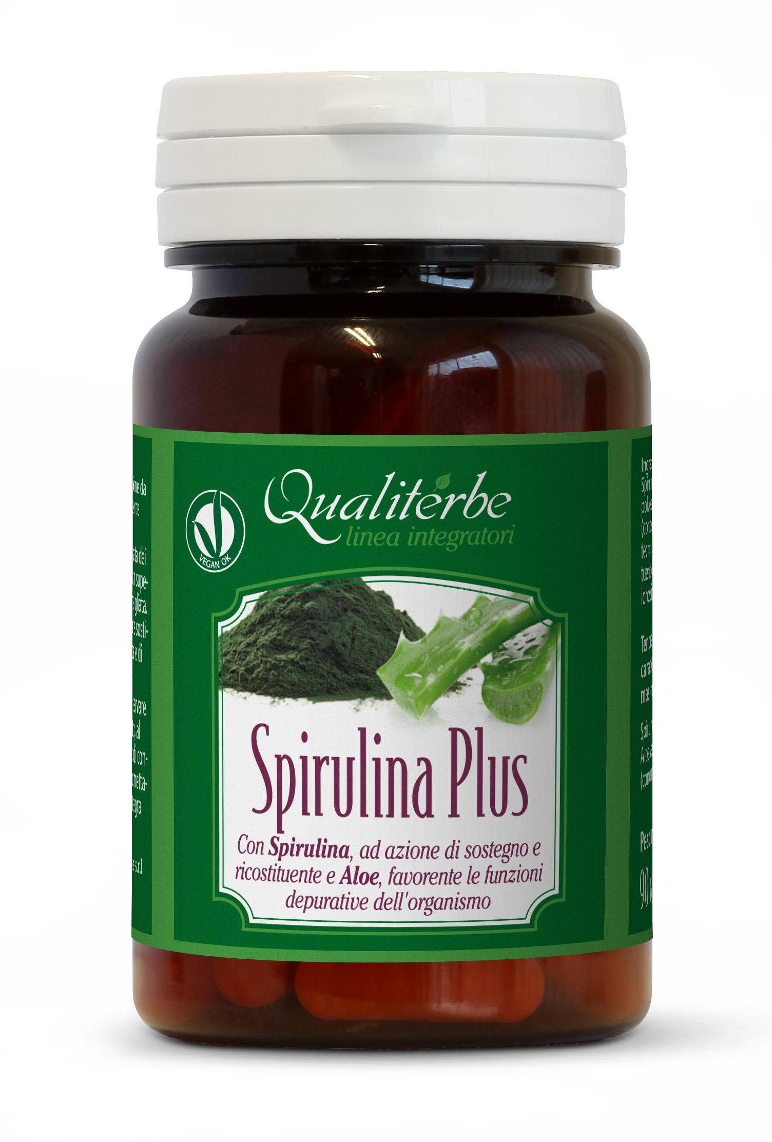 Spirulina Plus con Aloe 90 Capsule (Vegan OK)