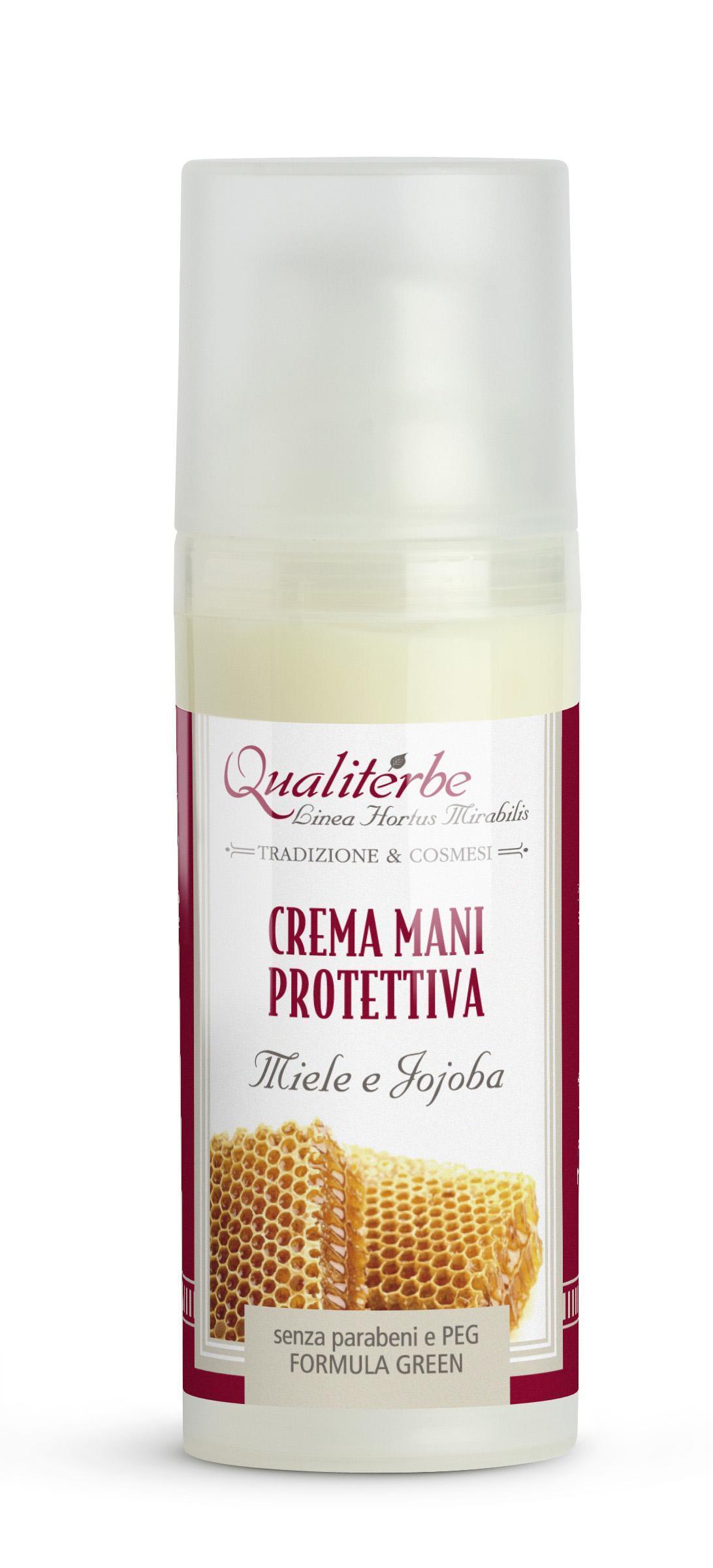 Crema per le mani protettiva al Miele 5% Jojoba 3%