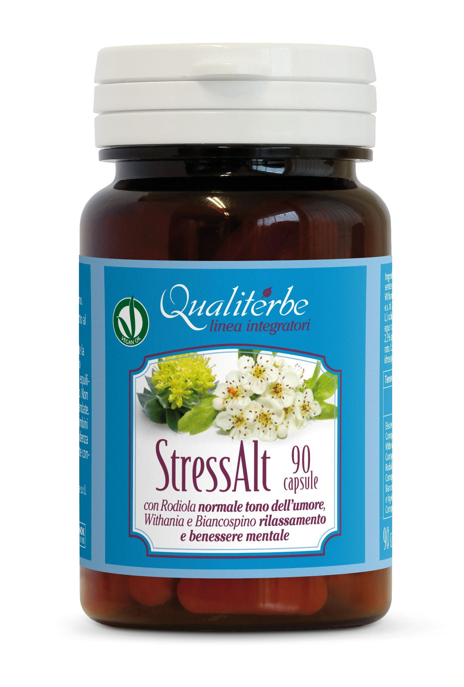 STRESS ALT 90 CAPSULE (Vegan Ok) Antistress