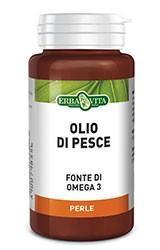 OLIO DI PESCE - INTEGRATORE OMEGA 3 ERBAVITA 50 PERLE