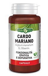 CARDO MARIANO - INTEGRATORE ALIMENTARE AZIONE EPATICA E DEPURATIVA ERBA VITA 400MG CONFEZIONE 60 COMPRESSE
