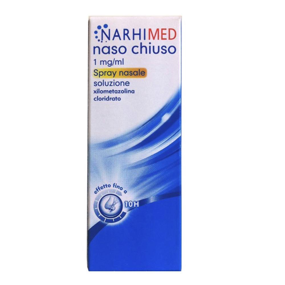 NARHIMED - NASO CHIUSO SPRAY DECONGESTIONANTE DELLA MUCOSA NASALE