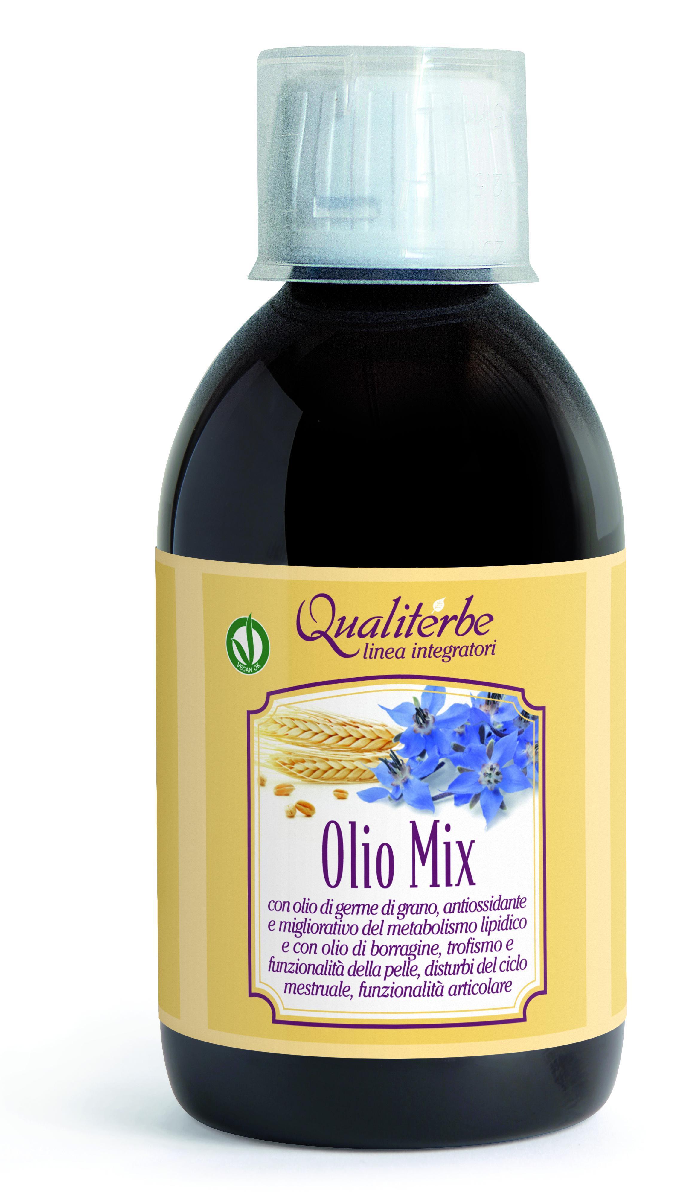 Olio Mix previene l'ipercolesterolemia utile nel trattamento delle dislipidemie e dismetabolie