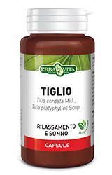 TIGLIO - INTEGRATORE UTILE PER RILASSAMENTO 450 MG 60 CAPSULE ERBAVITA