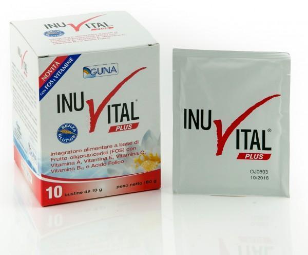 INUVITAL PLUS - INTEGRATORE PER L'INTESTINO GUNA 10 E 30 BUSTINE