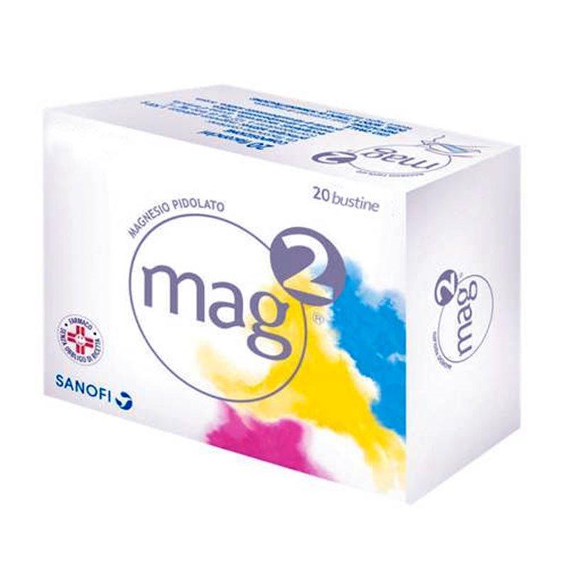 MAG 2 2,5 GR - MAGNESIO PIDOLATO 20 COMPRESSE EFFERVESCENTI