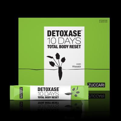 DETOXASE - INTEGRATORE TOTAL BODY RESET 10 GIORNI ZUCCARI