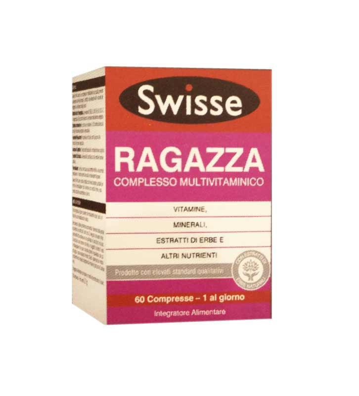 SWISSE RAGAZZA MULTIVITAMINICO - INTEGRATORE PER RAGAZZA 60 COMPRESSE
