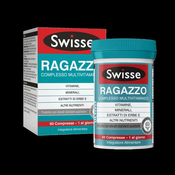 SWISSE RAGAZZO - INTEGRATORE MULTIVITAMINICO PER RAGAZZO 60 COMPRESSE