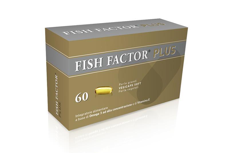 FISH FACTOR PLUS - INTEGRATORE FUNZIONALITA' CARDIACA 60 PERLE GRANDI