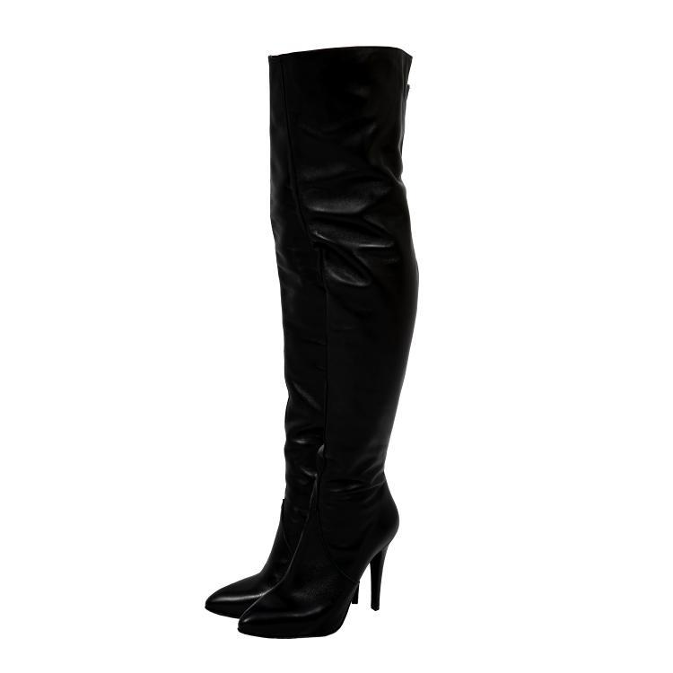 eb39eb126c40d RED - OVERKNEE BOOTS - STIEFEL - HIGH HEELS - 120mm/4.7 - RED ...