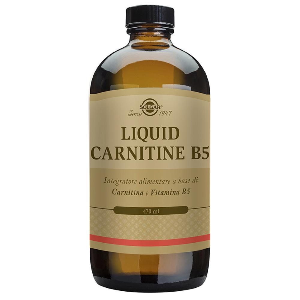 LIQUID CARNITINE - INTEGRATORE DI L-CARNITINA CON VITAMINA B5 470 ML