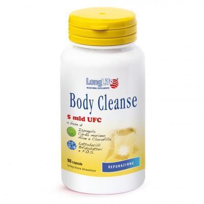 BODY CLEANSE - INTEGRATORE AZIONE INTESTINALE E DEPURATIVA LONG LIFE