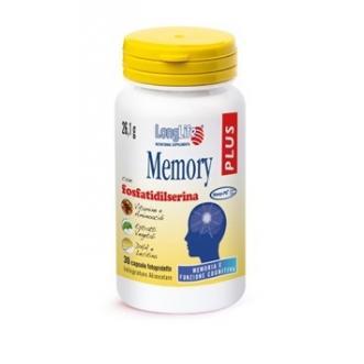 MEMORY PLUS - INTEGRATORE ALIMENTARE PER LA MEMORIA LONG LIFE