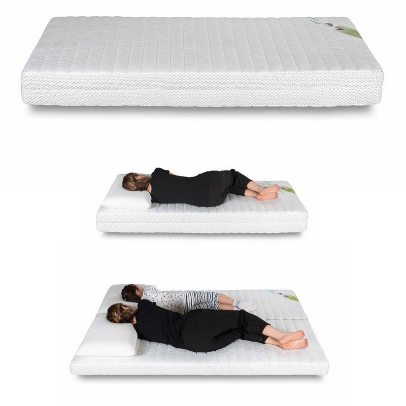 matelas memoire de forme matelas 1 personne convertible en matelas 2 personnes. Black Bedroom Furniture Sets. Home Design Ideas