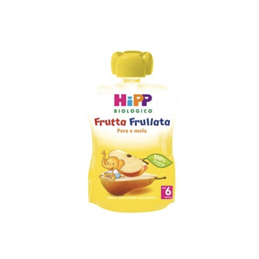 HIPP FRUTTA FRULLATA BIOLOGICA MELA E PERA - DAL 6 MESE COMPIUTO