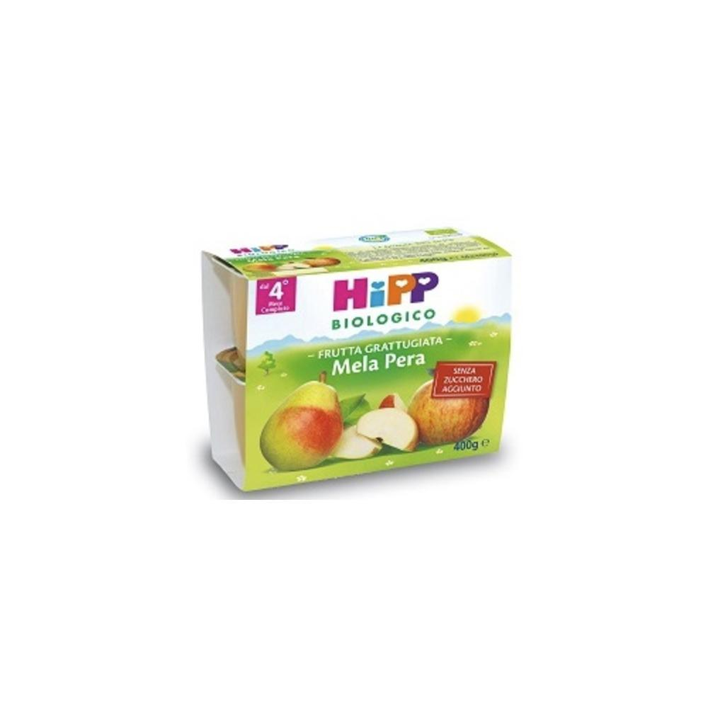 HIPP BIOLOGICO FRUTTA GRATTUGIATA MELA PERA - DAL 4 MESE COMPIUTO