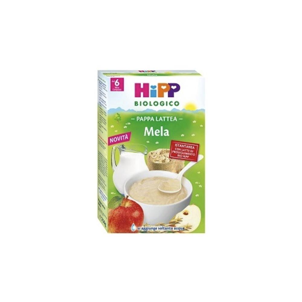 HIPP BIOLOGICO PAPPA LATTEA MELA - DAL 6 MESE COMPIUTO