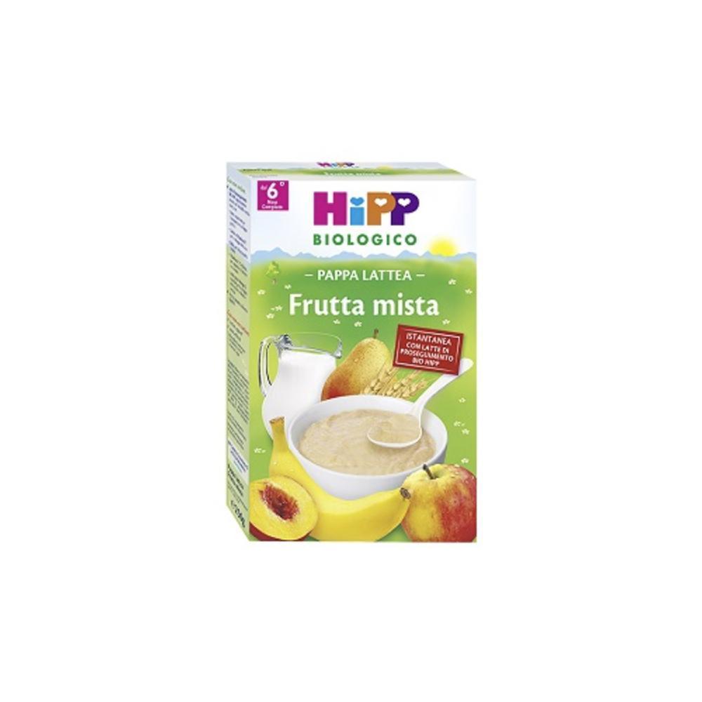 HIPP BIOLOGICO PAPPA LATTEA FRUTTA MISTA - DAL 6 MESE COMPIUTO