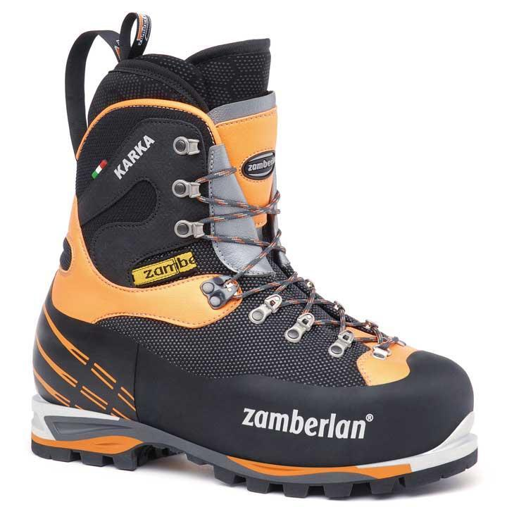 6000 KARKA EVO RR   -   Men's Mountaineering  Boots   -   Black/Orange