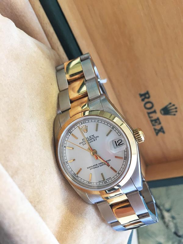 negozio online 3366b 091fa Orologio secondo polso Rolex Oyster Perpetual Datejust