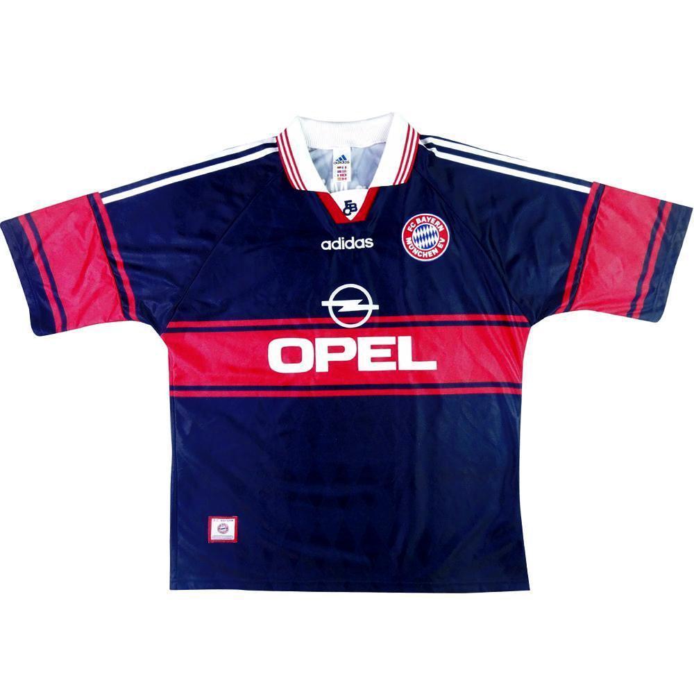 premium selection 6ab01 b7cc3 1997-99 BAYERN Munich shirt HOME L (Top)