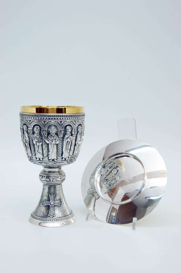 Calice tutto in argento con patena molace2378 pietrobon for Pietrobon arredi sacri
