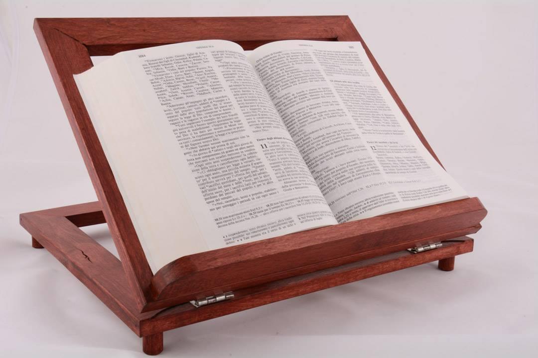 Leggio da tavolo in legno rosso 34 x 28 cm pietrobon for Pietrobon arredi sacri