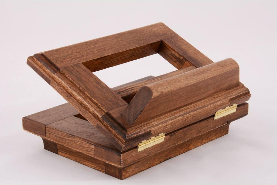 Leggio piccolo da tavolo in legno 16 x 12 cm pietrobon for Pietrobon arredi sacri
