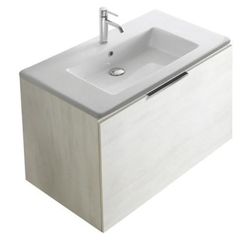 Mobile con lavabo cm 95 x 50 Plus design Galassia - Il Bernini