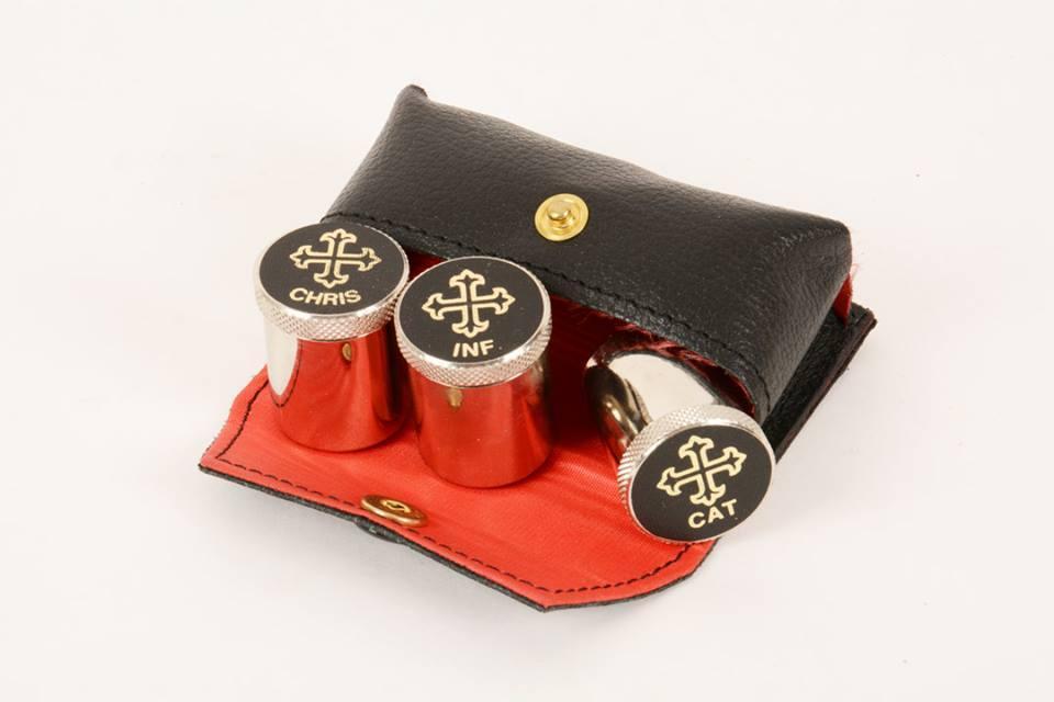 Astuccio completo di tre vasetti sal38 pietrobon arredi for Pietrobon arredi sacri