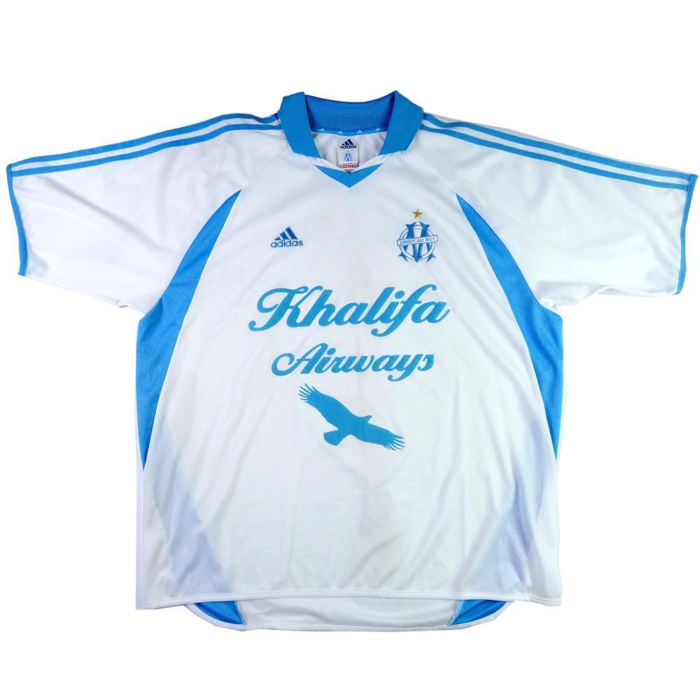 new concept 3d2ee b210e 2001-02 Olympique Marseille shirt Home XXL (Top)