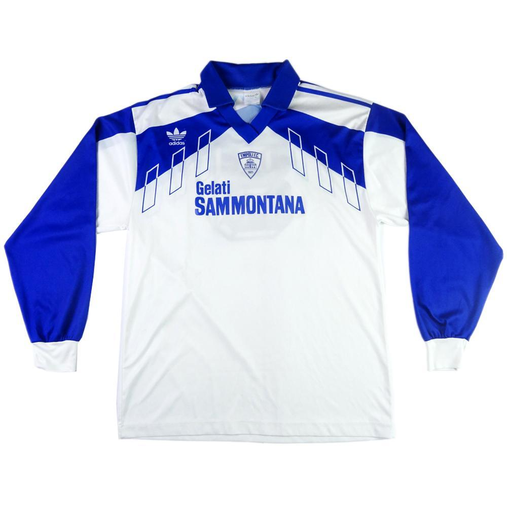 1992-93 Empoli Away shirt  8 Match worn XL (Top) - TOP VINTAGE FOOTBALL 8cd3e2f7b