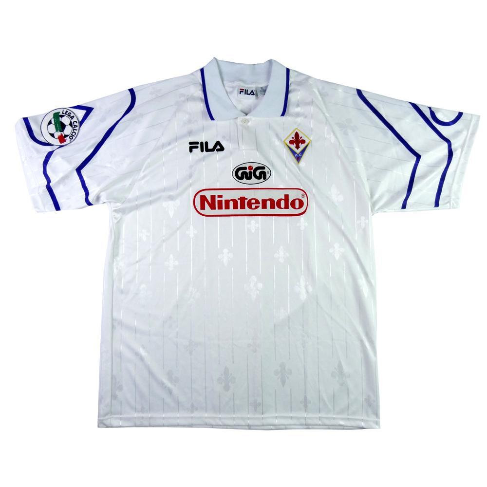 1997-98 Fiorentina Away shirt MATCH ISSUE XL (Top) - TOP VINTAGE FOOTBALL 65260085c