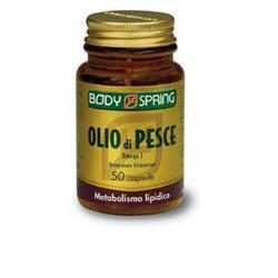 BODY SPRING OLIO DI PESCE OMEGA 3 50 CAPSULE