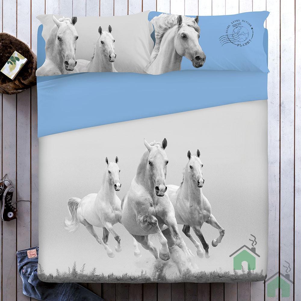 Set lenzuola CAVALLI per letto matrimoniale Mustang Gabel ...