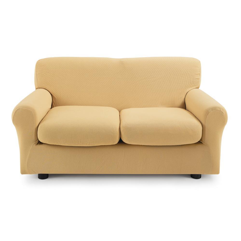 Copridivano 2 posti con 2 cuscini Zucchi Copri divano ZAPPING ocra ...